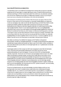 Jaarverslag bestuur 2017